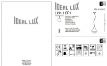 Ideal Lux LIDO-1 SP1 FUME (168326) 3