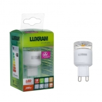 Italux 715090303 Luxram 715090303 CrystaLED /Plus G9 2.5W Warmwhite Blister Pack 2nd generation
